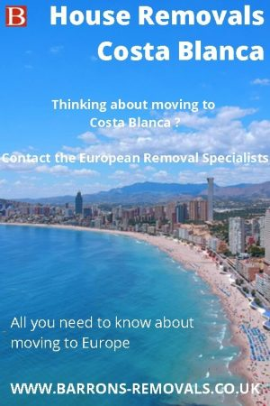 House Removals Costa Blanca